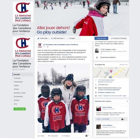 Fondation des Canadiens - 8 février 2017