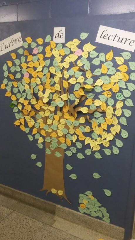 L' arbre de lecture - 17 mars 2017